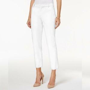 Charter Club Petite White Cropped Pants